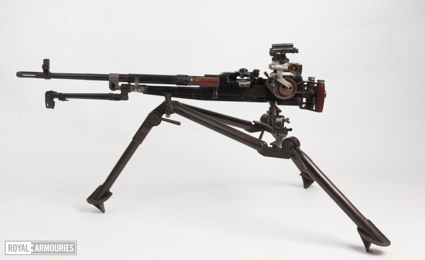 Centrefire automatic machine gun - Experimental SFMG (about 1956)