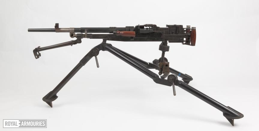 Centrefire automatic machine gun - Experimental SFMG