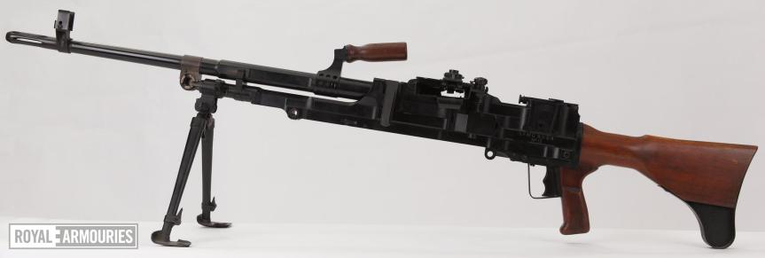Centrefire automatic machine gun - SFMG Experimental Turpin X11E4