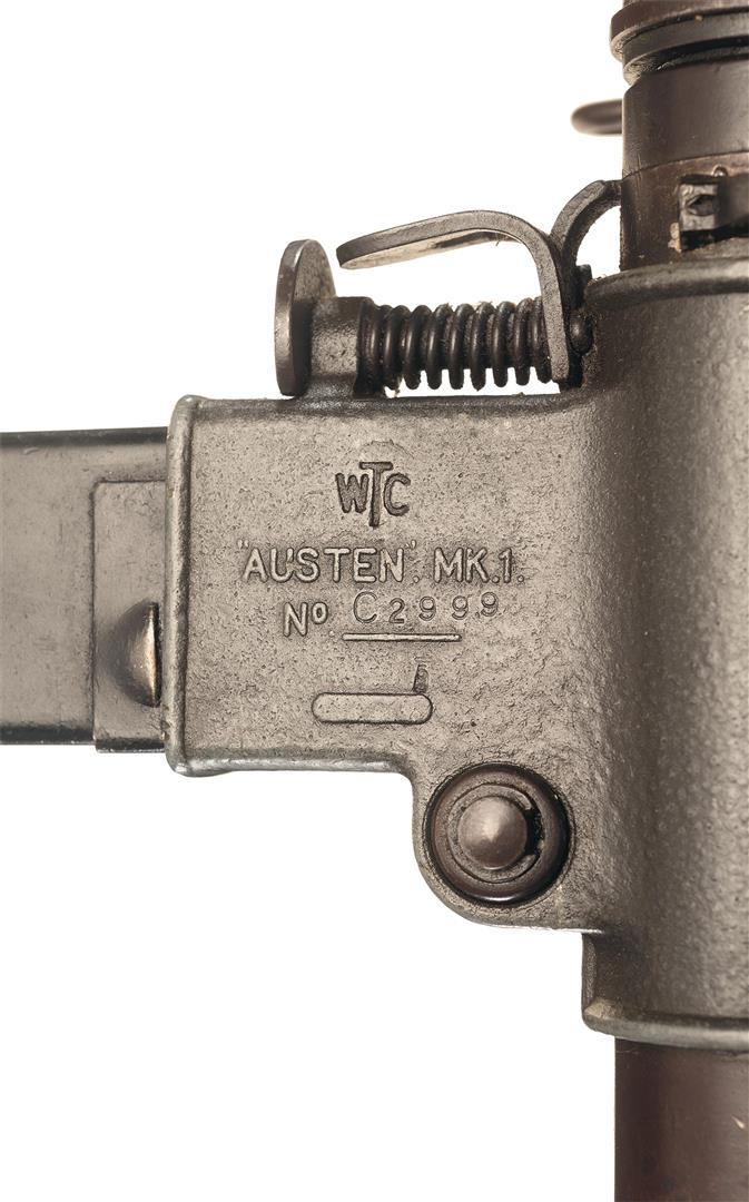 AUSTEN Submachine Gun – The Armourers Bench