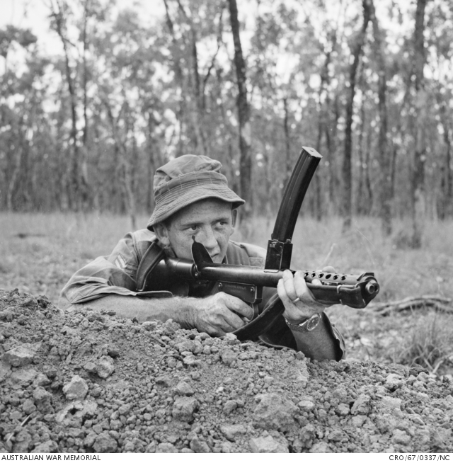 8RAR with F1 SMG (AWM)