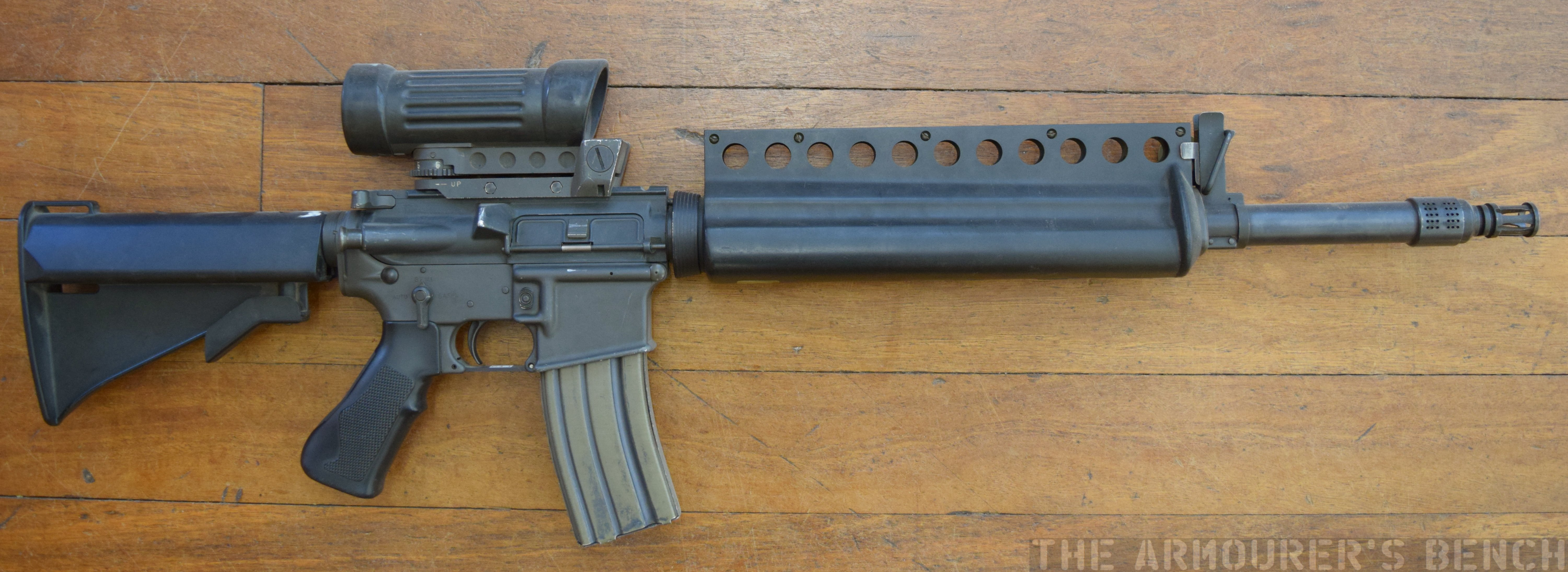 Colt ACR rifle submission