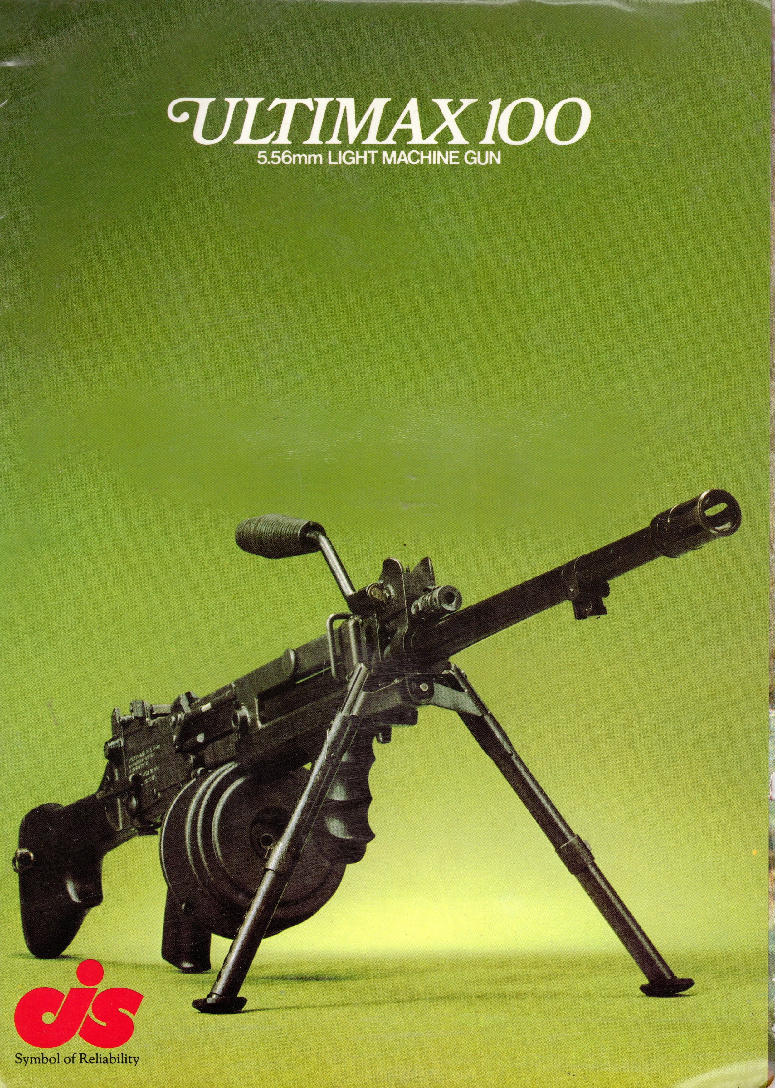 Ultimax 100 Light Machine Gun – The Armourers Bench
