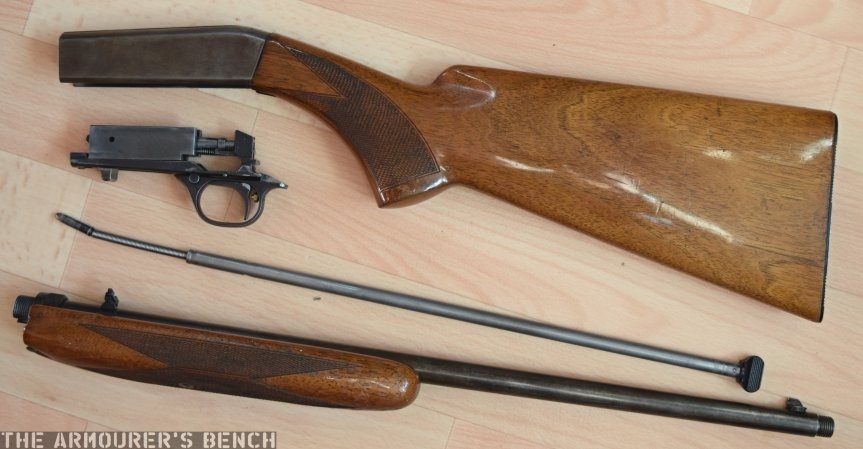 John Browning's Semi-Automatic  22 – The Armourers Bench