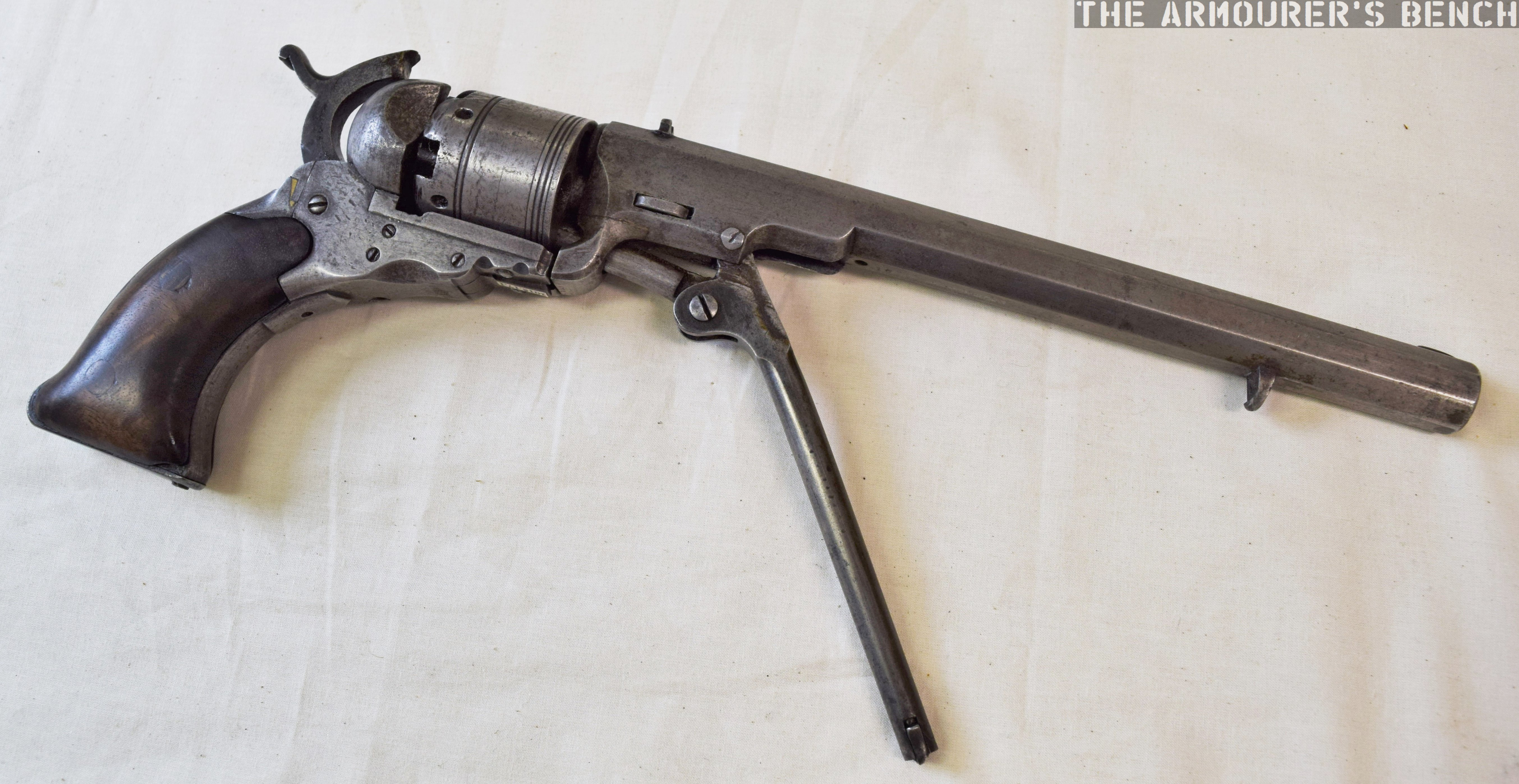 Colt Paterson Revolver – The Armourers Bench