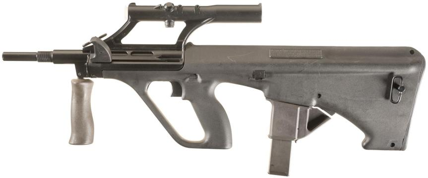 Submachine Gun – The Armourers Bench