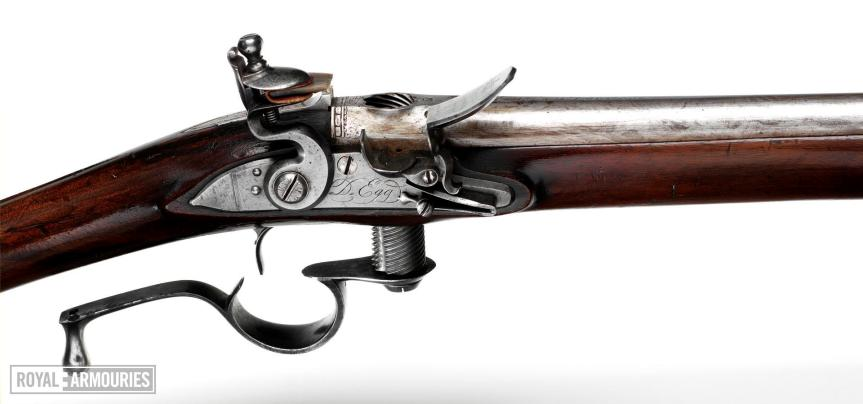 Flintlock breech-loading rifle - Ferguson type by Egg (1776)aa