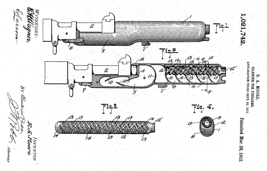 moore patent drawing