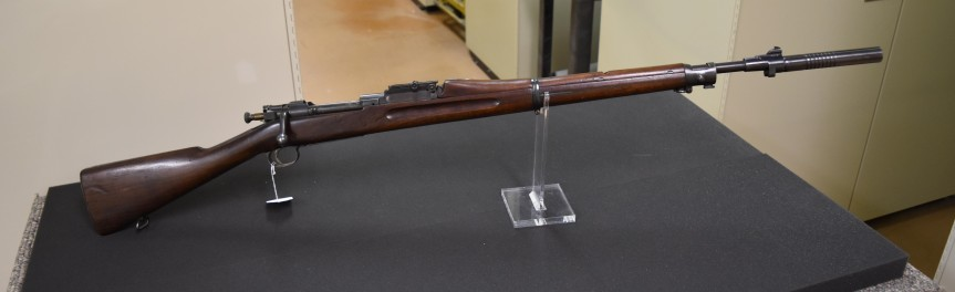 M1903 Springfield with a Maxim Silencer