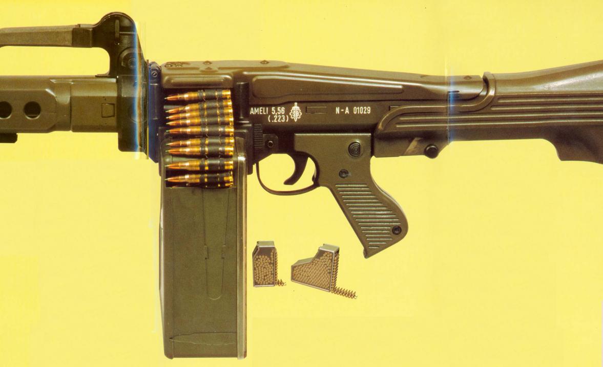 The Cetme Ameli Light Machine Gun The Armourers Bench