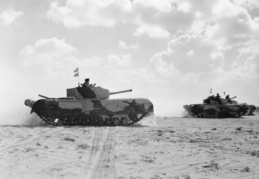 Churchill III N africa 1942 IWM