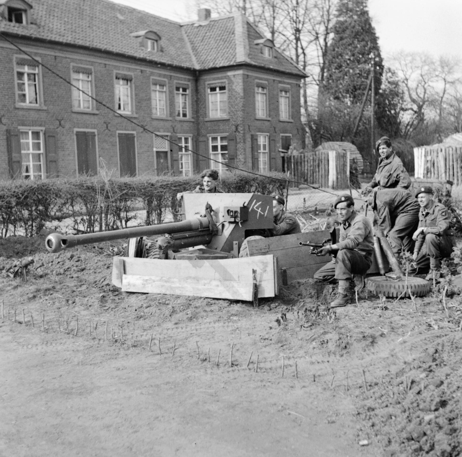 THE BRITISH ARMY IN NORTH-WEST EUROPE 1944-45 -IWM