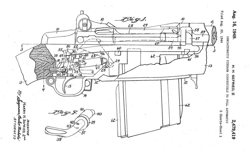 US2479419 sefrieds 1st patent
