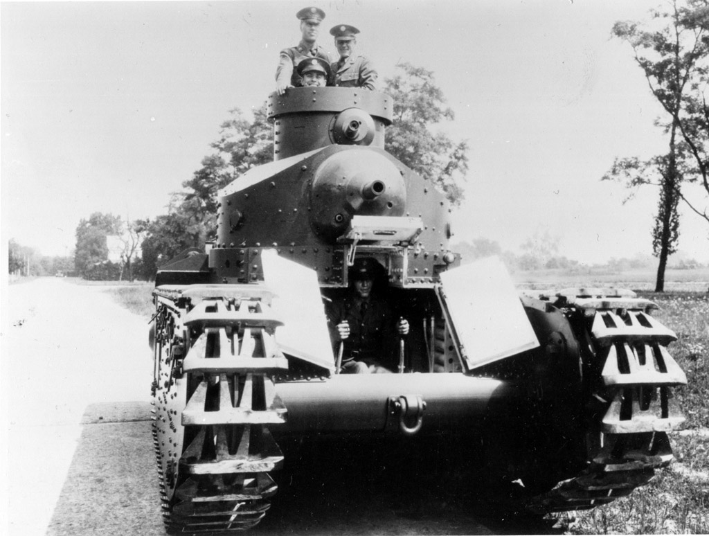 An M1921 Medium Tank (US National Archives)